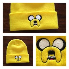 Adventure Time Jake The Dog Beanie Hat Etsy.