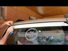 Video: How to apply vinyl to car window
