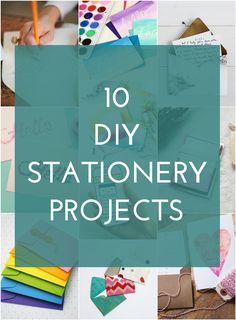 10 DIY Stationery Ideas