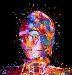 Are you ready émoticône smile Star Wars by ❤ Alessandro Pautasso © #Art #Illustration #Colors #Creativity #Inspiration #Digital #DigitalArt #DigitalArtist #Visual #Visualart #VisualArtist #StarWars #VII #Yoda #A