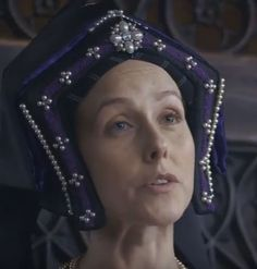 Lovely Gable Hood, from Six Wives with Lucy Worsley.
