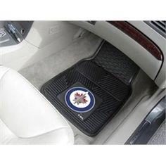 Winnipeg Jets All Weather Rubber Auto Car Mats