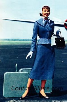 Couture Allure Vintage Fashion: Travel in Style