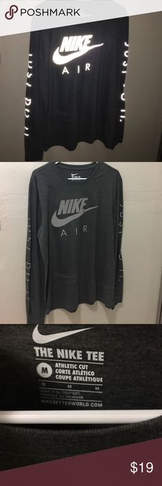 NIKE HOLOGRAPHIC LONG SLEEVE TEE! 10/10 CONDITIONS | NEVER BEEN WORN Nike Shirts Tees - Long Sleeve