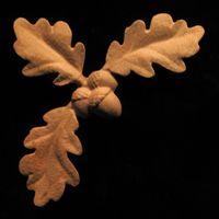 Image Onlay - Corner , Oak Leaves