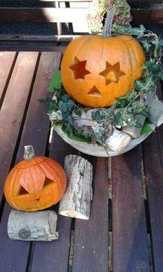 Podzimní výzdoba z dýní