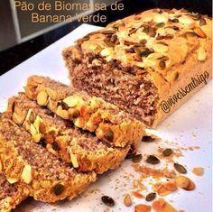 Pão de Biomassa de Banana Verde
