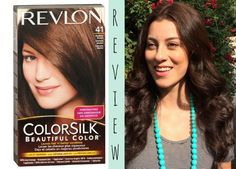 Tips for the best results with box hair dye. Revlon Colorsilk hair dye review. #beautyproductreview #diyhaircoloring