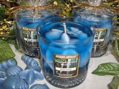 Known for their unique formulations and fashions, the Unique Aromas line of gel candles are perfect gifts. The starfish and sea shell hard-wax pieces create a fun, picturesque portrayal of the fragrances that they embody.The starfish and sea shell pieces are within transparent gel that creates a window of tranquility.
