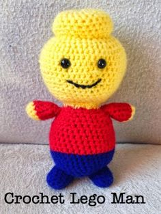Amigurumi Lego Man - FREE Crochet Pattern / Tutorial