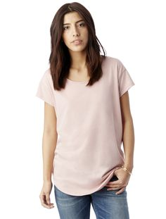 An easy and relaxed fit, the Origin Tee updates the basics of a boxy tee with a slightly wider neck and dropped shoulders for a flattering and flowy look. Crafted with Lenzing™, a sustainable cellulose fiber derived from beachwood pulp that's twice as soft as conventional cotton. <span>Made in a WRAP-certified Factory</span>