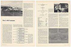 LET L-410 Turbolet Aircraft 2-Page Photo Article (1969)