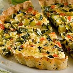 Veggie Recipes, Vegetarian Recipes, Cooking Recipes, Healthy Recipes, Quiches, Salada Light, Argentina Food, Argentina Recipes, I Chef