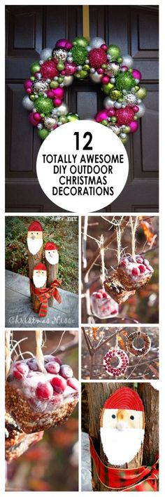 these diy holiday decorations are super cute and so easy to make redneck christmas decorations