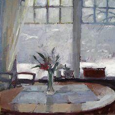 ◇ Artful Interiors ◇ paintings of beautiful rooms - Carol Rabe Window Art, Still Life Art, Fashion Painting, Windows, Interior Paint, Art World, Painting Inspiration, Painting & Drawing, Original Paintings