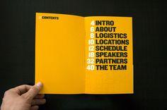 99% Conference 2010: Branded Materials by Matias Corea, via Behance