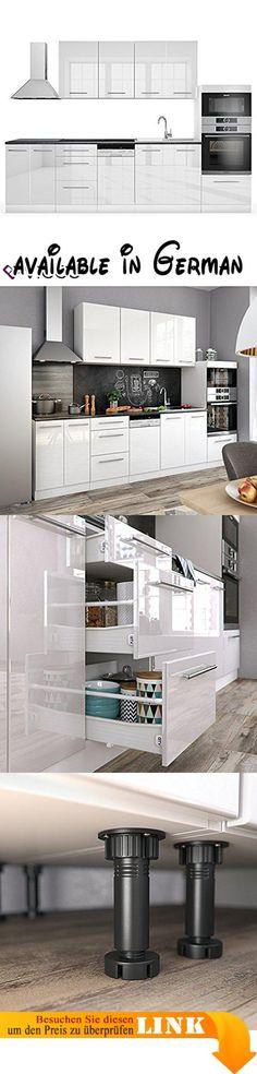 B00FJST3ZG  Tenzo 4800-001 Bloc - Designer Esstisch Tischplatte - küchenzeile hochglanz weiß