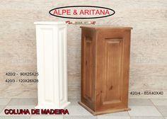 Colunas de madeira fina e grossa. Acesse nosso site: www.alpearitana.com.br ou fale conosco: marketing@alpearitana.com.br