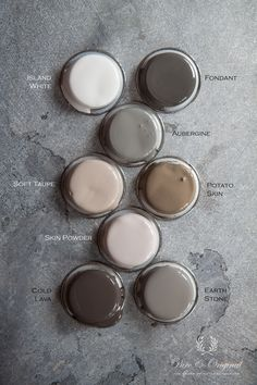 Pure & original interior paint - beautiful colour palette