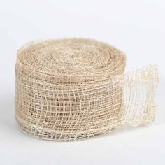 "1-1/2"" Natural Sinamay Ribbon - 10 yards"
