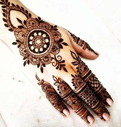 Wonderful Mehndi Design