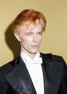 At the 17th annual Grammy Awards on March 1, 1975, Bowie arrived as the Thin White Duke, an icy-cool persona primarily associated with his album 'Station to Station,' which was released the following year. (Photo: WireImage)