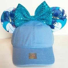Stitch cap with Mickey ears❤