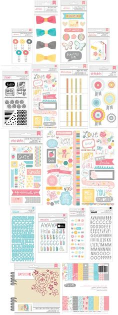 New instore now! #americancrafts My girl collection. Simply delicious! #papercraft #scrapbooking