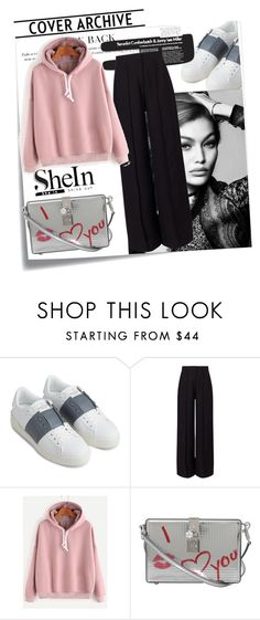"""""""sheinside"""" by lana-97 ❤ liked on Polyvore featuring Post-It, Valentino, Miss Selfridge and Dolce&Gabbana"""