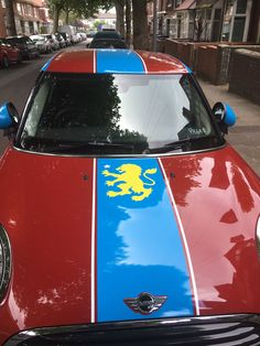 """""""If this is your mini parked in my street. You sir/madam are a legend. Aston Villa Fc, Villa Park, Football Kits, Vintage Football, Sams, World History, Motors, Automobile, Club"""