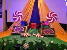 Charlie and the chocolate factory themed party. This was a really creative and fun themed birthday party. The birthday boy loved Charlie and the Chocolate factory, so we recreated a themed party for them. Event production and decor by MGN events.  http://www.mgnevents.co.uk/charlie-chocolate-factory-themed-party/