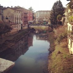 Vicenza, Italy - My birthplace, but I don't remember it. I would love to go back!