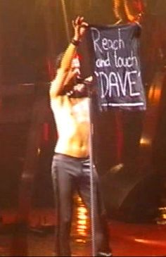 Dave Gahan of Depeche Mode during Exciter