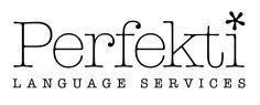 Perfekti Oy:n logo www.perfekti.com - Käännös- ja kielitoimisto