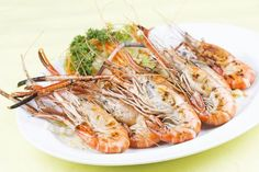 Krevety recept Shrimp, Meat, Food, Essen, Meals, Yemek, Eten