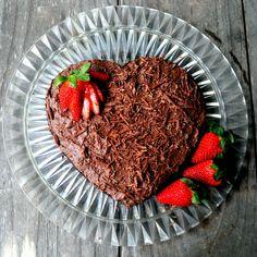 Flourless chocolate cake with ghee icing
