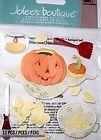 JOLEES BOUTIQUE PUMPKIN CARVING Halloween Scrapbook Craft Sticker Embellishment