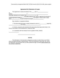 Create A Free Lease Renewal  Download  Print  Legal Templates