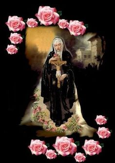 """""""Saint of Impossible Causes""""..  St. Rita, come to my aid.  From Bell of the Wanderer"""