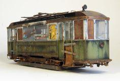 MINIART 1/35 scale European Tram. By Eugene Tur. #scale_model #tram #streetcar