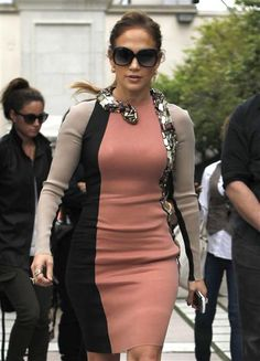 Jennifer Lopez in a serpentine dress. See more photos of your favorite stars on Wonderwall: http://on-msn.com/JWodzg