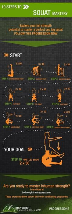 Squats - Body Weight Training Arena