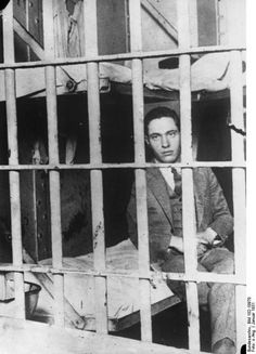 """Nathan Leopold in Stateville Penitentiary, Joliet, Illinois, January 1931."" He was half of the duo more commonly known as ""Leopold and Loeb"". He, along with Richard Loeb, was a University of Chicago law student who murdered 14-year-old Bobby Franks in 1924. They murdered Franks because they wanted to commit a perfect crime."