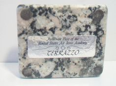 United States Air Force Academy Terrazzo Tile Souvenir Momento
