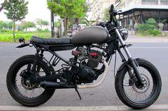 motor tiger modifikasi jap style