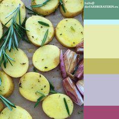 #farbinspiration #rosmarinkartoffeln #farbpalette #farbprofil #farbharmonie #farbe #quantität #proportion #farbberatung #diefarbberaterin  #  #color #palette #scheme #inspiration #rosemary #potatoe #heartwarmingfood #colour #consutlant  #purple #lilac #yellow #mint #sage #rosemary  www.diefarbberaterin.eu