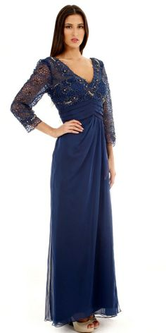 This Nigt Scene dress is equal parts flattering and stunning! This lovely piece is in stock and ready for try ons.