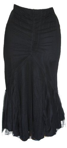 Spin Doctor Black Ariana Victorian Gothic Skirt