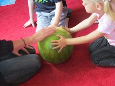 Exploring watermelons | Teach Preschool