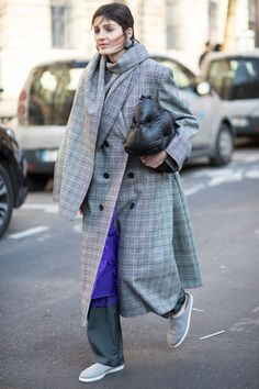 Puffers Were a Street Style Essential On Day 3 of Paris Fashion Week   Fashionista